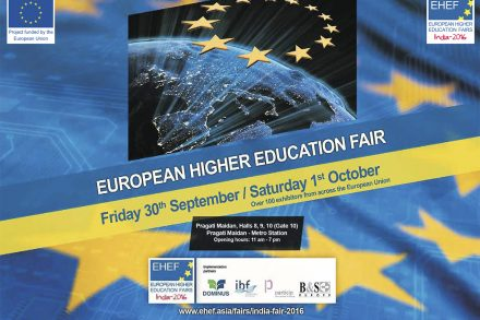 European Higher Education Fair 2016 en India